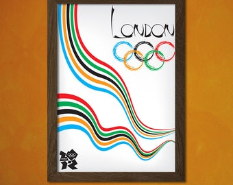 London Olympic Games - London Print Vintage Sport Poster Olympic Game Poster London Poster Gift Idea Travel Decor BUY 2 GET 1 FREE