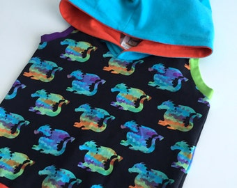 SALE 18/24m All Ears Hoodie - Dragon Tail (Reg. Price 40)