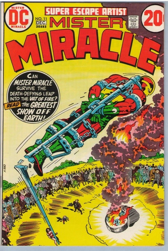 Mr. Miracle 11 Dec 1972 VF+ (8.5)