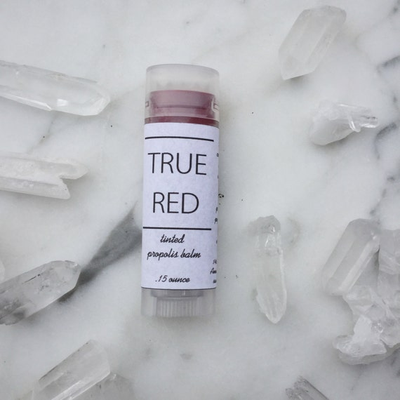 True Red Tinted Propolis Balm- Lip and Cheek
