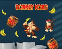 Unique Donkey Kong Related Items Etsy