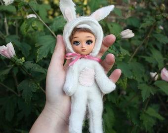 little pullip Bounie full custom body neemo, doll ooak