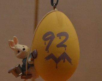 1992 Eggspert Painter Hallmark Easter Ornament