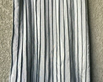 Silver grey pleated Forte skirt