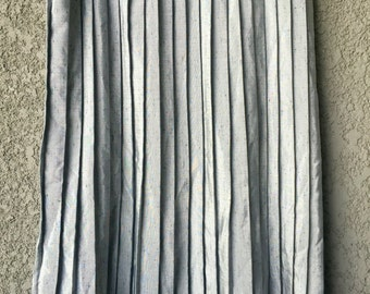 CLEARANCE Silver grey pleated Forte skirt