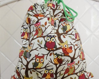 KIDS BACKPACK with Owls
