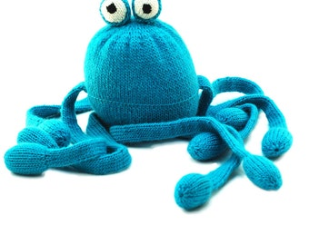Knitting Pattern Ollie the Octopus Pdf INSTANT DOWNLOAD