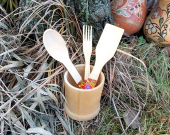 Kitchenware, Wooden kitchen set, Wooden spoon, Wooden fork, Kitchen spatula, Utensils for cooking, For cooking, Stirring food, kitchen tools