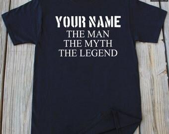 Personalized Grandpa Gift Custom Grandpa Gift T-Shirt Father's Day Gift Personalized Father Gift Personalized Dad Gift Grandpa Shirt
