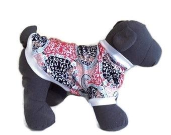Dog tshirt, Short Sleeve Dog Shirt, Dog Clothes, Dog Apparel, Dog Shirt, Knit Dog Shirt, Small Dog Clothes, Girl Dog Clothes, Dog Pullover