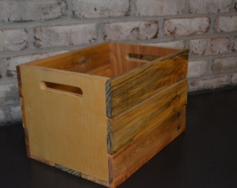 Rustic Pallet Wood Crate