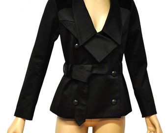 True Romance - jacket Amaia - black