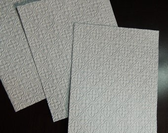 Tiles, Embossed Cardstock, Embossed Sheets, Embossed Card Fronts