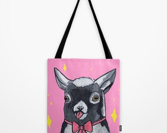 Cute Goat Tote Bag