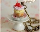SCONTO ! Romantic Plate Cupcake : Collana 3
