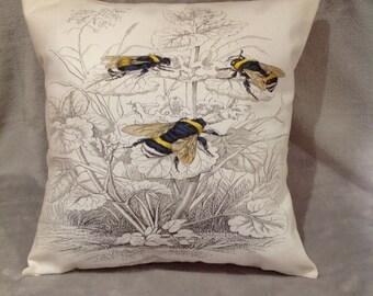 Bumble Bee cushion/pillow