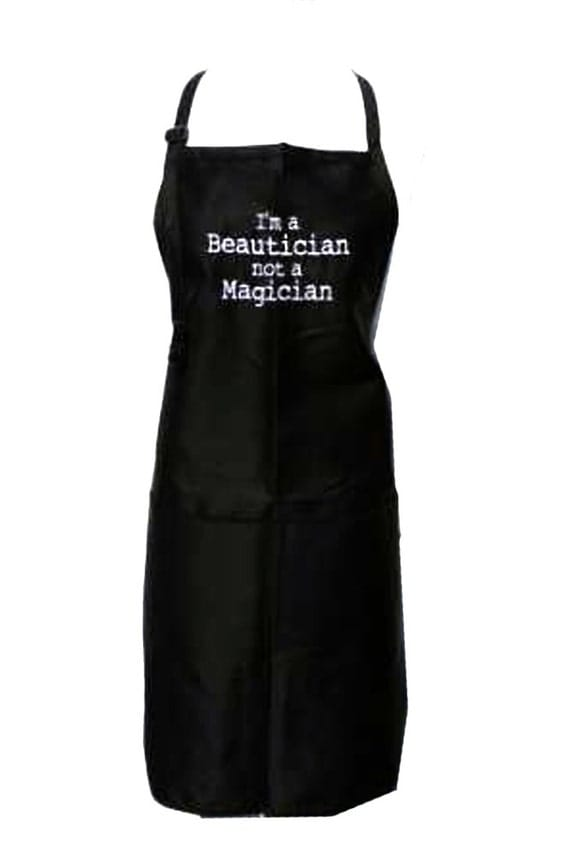 I'm a Beautician Not a Magician (Adult Apron)