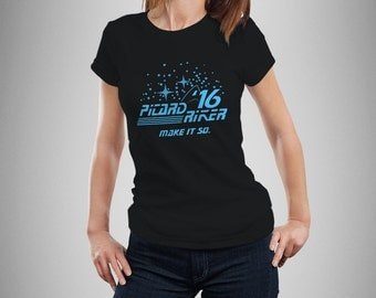Star Trek Inspired Picard Riker 2016 Women's T-Shirt