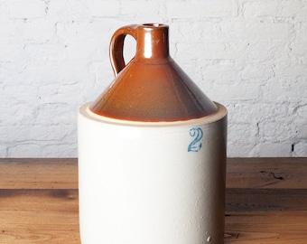 Vintage 2 Gallon Stoneware Moonshine Jug