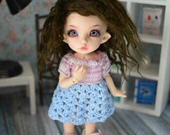 PukiFee blue n pink dress/tunic