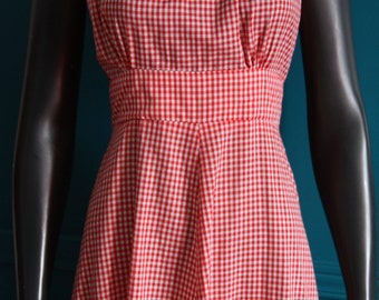 Robe romantic Vichy picnic