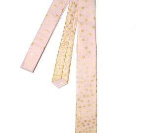 Celebration Champagne Skinny Tie