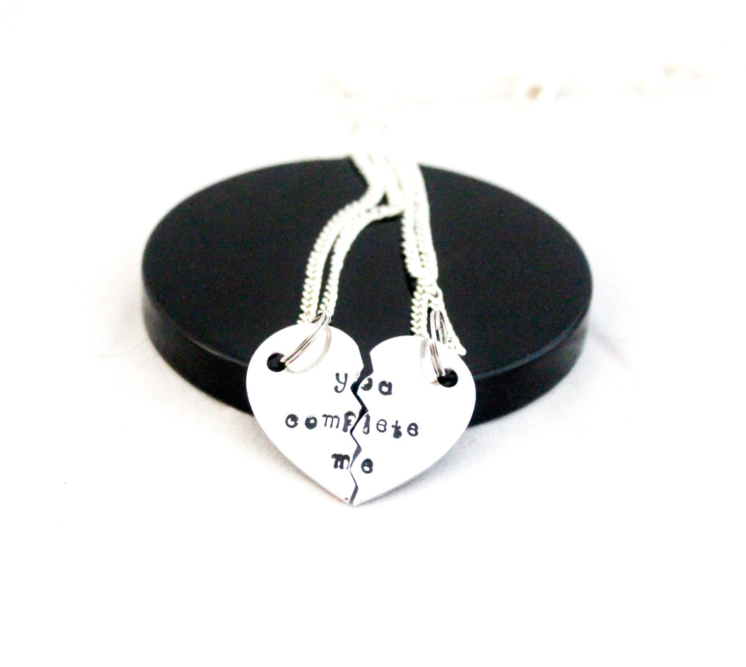 You complete me necklace couples gift couple necklace his