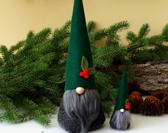 Tomte Christmas Mini with Large Gnome Set ~ Nordic Gnome