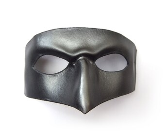 Metallic Leather mask