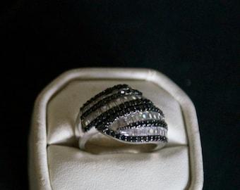 Fabulous CZ Silver Ring