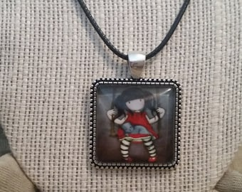 Swing Time Girl Necklace