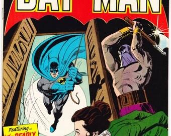 Batman 250 and Robin comic book, Bronze Age, Vintage art. 1973 DC Comics in FN/VF (7.0)