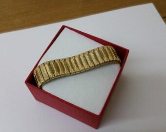 Old, gold Doublé bracelet American fine MAB123