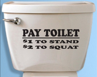 toilet decal funny bathroom wall mural custom vinyl wall art funny quote
