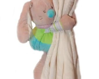 SALE**Floppy bunny curtain tie back