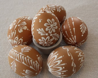 Wax Decorated  Easter Egg, Kraslice, Pysanky