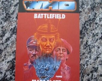 Doctor Who Battlefield Target Paperback Book