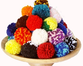 Catnip PomPom Cat Toys-Set of 6