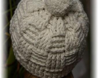 Gorro lana a ganchillo