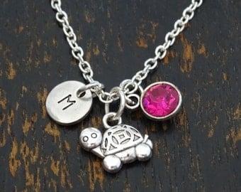 Turtle Necklace, Turtle Charm, Turtle Pendant, Turtle Jewelry, Sea Turtle Necklace, Turtle Gifts, Beach Necklace, Beach Jewelry, Animal