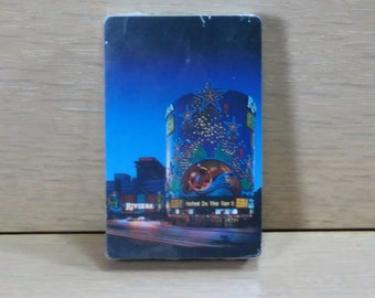 Playing Cards Of the Recently Demolished Riviera Casino in Las Vegas by Hoyle made in the USA/ New Old Stock (D)