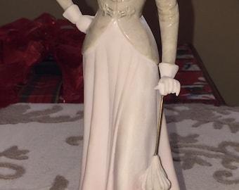 """Vintage Fine Porcelain Figurine """"Elegant Lady"""""""