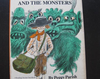 Zed and the Monsters by Peggy Parish  1979 First Edition