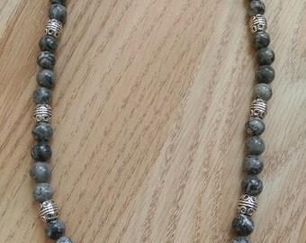 Grey Tones necklace set
