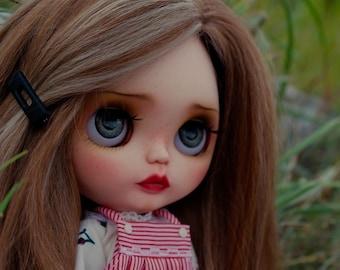 Annette - Custom Blythe Doll, OOAK Art Doll