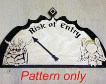 Angel and Demon Mood Barometer Scroll Saw Pattern - PDF