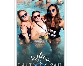 Last Sail Before the Veil Snapchat Filter | Customized Bachelorette Party Snapchat GeoFilter | Wedding Snapchat GeoFilter
