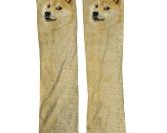 Doge Meme Socks | Cool Meme Gift | Meme Socks | Gift Fun Socks Dog | Stocking Stuffer | Doge Gift