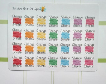 28 Change Sheets Stickers