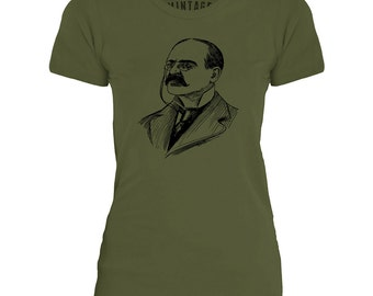 Mintage English Swindler Womens Fine Jersey T-Shirt